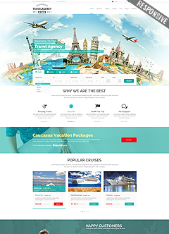 Travel Agency WP Wordpress templates