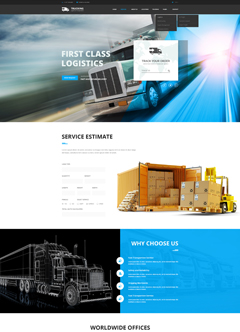 Transportation WP Wordpress templates