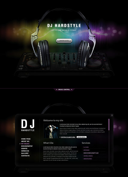 Pin By Noel C On Flor Retirement Html5 Templates Photography Website Templates Dj Website